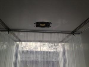 滑軌式冷凍門簾