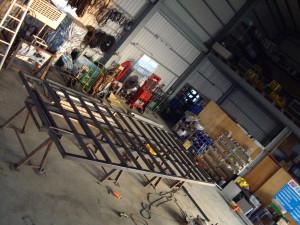 Intense H-steel base