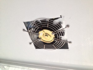 Dual-layered insulating exhaust fans
